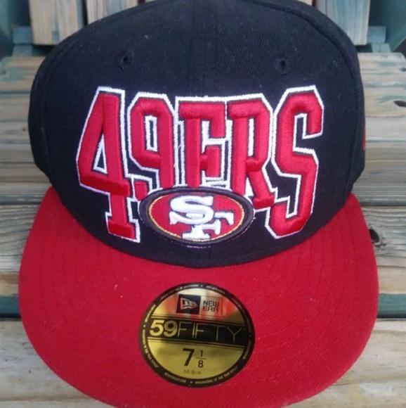quality design 1a119 6d6cf NFL San Francisco 49ers Hat Cap. NWT. New Era